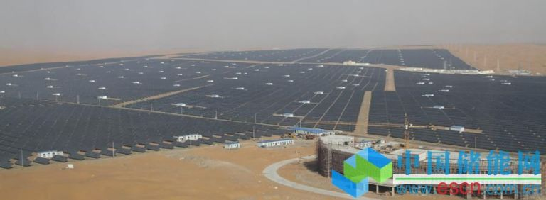 This image has an empty alt attribute; its file name is tengger-desert-solar-park1.jpg